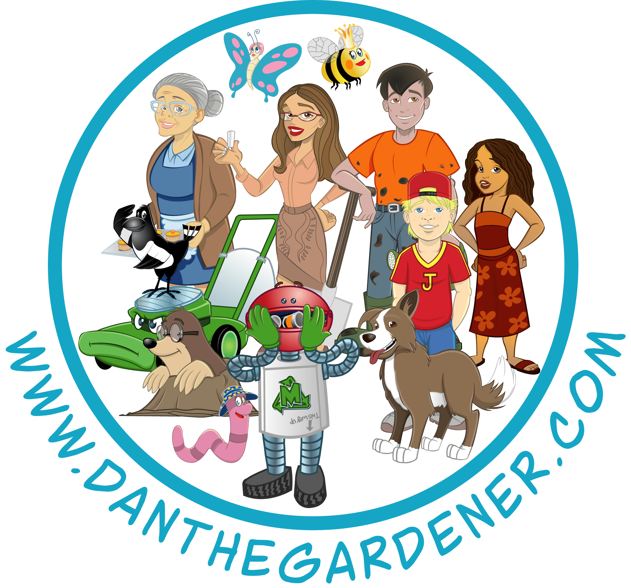Dan the Gardener & Friends Kids Printables
